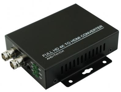4K HD TVI CVI AHD Analog to HDMI converter